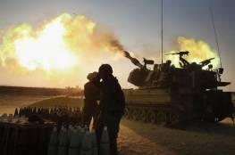 الاحتلال يقصف نقطتي رصد للمقاومة شرق القطاع