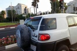 """مفاجأة.. سيارة سعودية تجوب شوارع """"تل أبيب"""" (صور)"""
