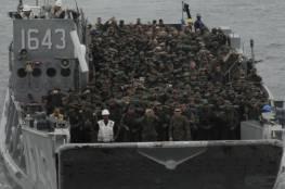 """قوات المارينز الامريكية في طريقها إلى """"إسرائيل"""""""