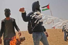 حرائق في الكيبوتسات المجاورة لغزة واطفائية اسرائيل تحاول السيطرة عليها بسبب طائرات ورقية