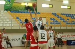 خدمات المغازي يحسم موقعة غزة الرياضي بالسلة