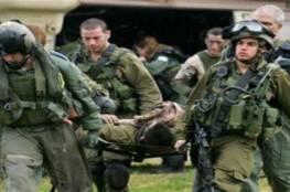 اصابة جندي اسرائيلي بجراح بعملية دهس قرب نابلس