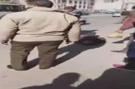 بالفيديو.. مصري يذبح آخر أمام محكمة والسبب..