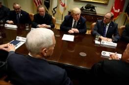 ترامب ينوي الدفع بـ'عملية سياسية' قريبة تجاه الفلسطينيين والاسرائيليين