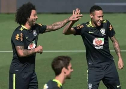 مارسيلو يتوقع انتقال نيمار إلى ريال مدريد