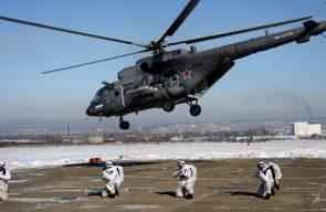تدريب مركب (شامل) للواء المظلي المستقل 83 في روسيا