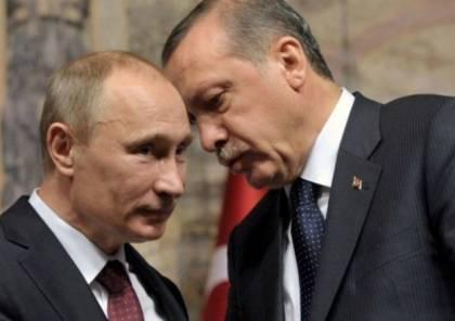 """اردوغان يتحدث عن """"اتفاق تاريخي"""" بعد محادثاته مع بوتين"""