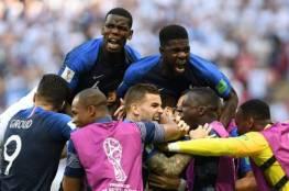 فيديو.. فرنسا تهزم الأرجنتين وتقصيها خارج المونديال