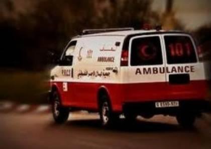 مصرع رضيع وإصابة والديه في حادث سير بخانيونس