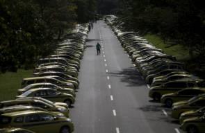 احتجاج في ريو دي جينيرو ضد