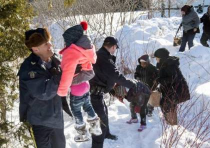 فرار 20 مهاجر من الولايات المتحدة باتجاه كندا