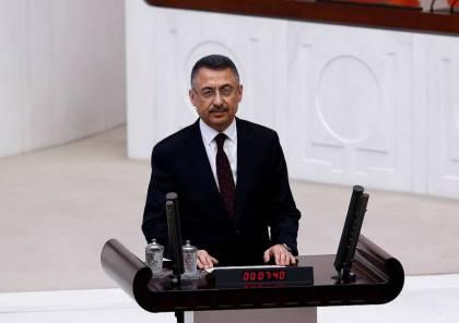 الحكومة التركية تؤدي اليمين الدستورية