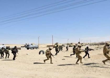"""""""عملية سيناء 2018"""".. مقتل جنديين مصريين و16 إرهابيا"""