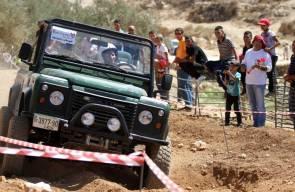سباق القدرة بسيارات الدفع الرباعي بفلسطين