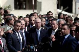 برنامج وصول الوفد .. وزراء حكومة الوفاق برئاسة الحمدالله يصلون قطاع غزة اليوم