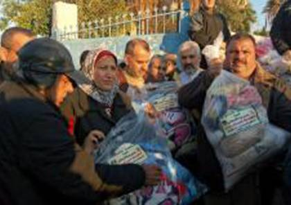 تسيير قافلة مساعدات  اردنية إلى قطاع غزة
