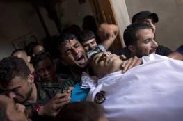 غزة تشيع جثماني شهيدي جمعة ثوار لأجل القدس برفح ودير البلح