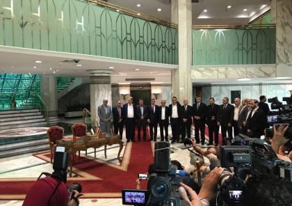 فيديو وصور: فتح وحماس توقعان اتفاق المصالحة في القاهرة