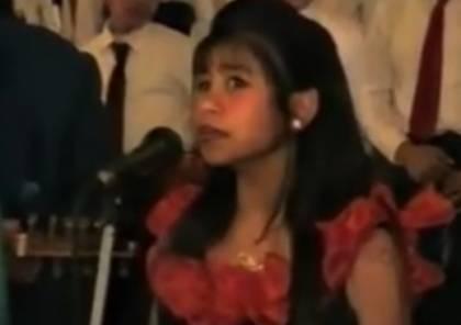 """شاهد:  هكذا كانت """"شيرين عبد الوهاب"""" قبل 20 عاماً!"""