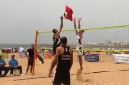 منتخب الطائرة الشاطئية يقع بمجموعة قوية للألعاب الآسيوية