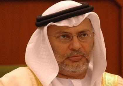 قرقاش: الموقف المصري حجر أساس في بلورة موقف عربي صلب