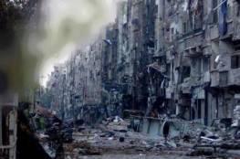 داعش يستسلم في اليرموك ويرفع الرايات البيضاء