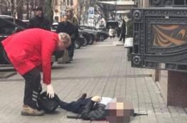 فيديو: لحظة اغتيال نائب روسي معارض لبوتين باحد شوارع اوكرانيا