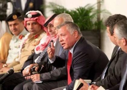 الملك عبد الله يتوعد المقصرين بحادث جرف السيول