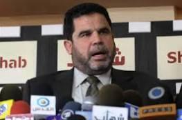 """البردويل : لا مواعيد محددة لـ """"حماس"""" في القاهرة بشأن المصالحة"""