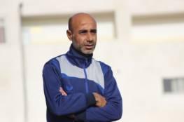 شباب خانيونس يقبل استقالة مدربه أبو حبيب