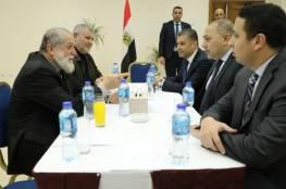 الوفد الامني المصري يلتقي قيادة الجهاد الإسلامي في غزة
