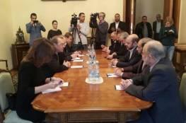 وفد قيادي من حماس يصل موسكو للقاء المسؤولين الروس