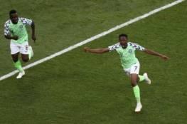 أحمد موسى يدخل تاريخ نيجيريا بالمونديال