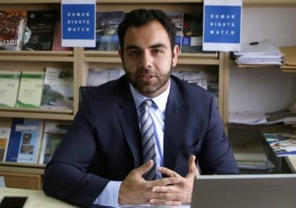 """محكمة إسرائيلية تلغي مرسوما يرحّل مدير مكتب منظمة """"هيومن رايتس ووتش"""""""