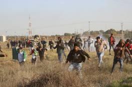 إصابة شاب برصاص الاحتلال شرقي غزة