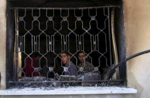 جريمة حرق الطفل دوابشة في نابلس