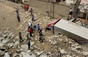 كوارث طبيعية في أنحاء العالم