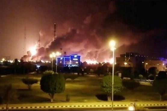 صعود أسعار النفط 15% بعد هجمات أرامكو السعودية