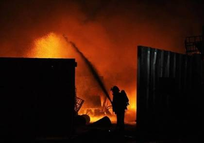 """غزة: السيطرة على حريق اندلع في """"الاندلسية مول"""""""