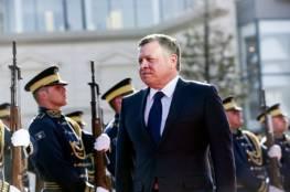 """الملك الأردني: عدم حل القضية الفلسطينية """"يعزز التطرف"""""""