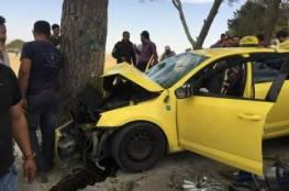 مصرع مسن واصابة 4 اخرين بحادث سير في بيت لحم