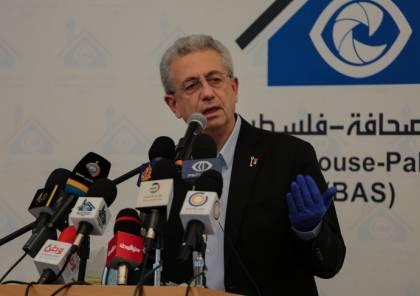 مصطفى البرغوثي: نرفض أي تدخلات خارجية في الانتخابات الفلسطينية