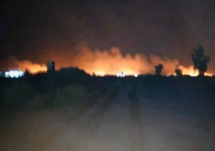 """هجوم اميركي جديد : قتلى من """"الحشد الشعبي"""" في قصف جوي ببغداد"""
