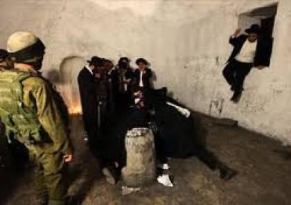 إصابة عدد من المواطنين خلال اقتحام مئات المستوطنين قبر يوسف بنابلس
