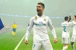 رونالدو يواصل سيطرته التهديفية في دوري أبطال أوروبا