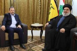 معاريف تزعم: حزب الله كشف مخطط حماس في لبنان ولقاء بين نصرالله والعاروري وسليماني