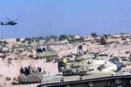 """سيناء: الجيش المصري يدمر سيارة مفخخة و""""وكرا"""" للمسلحين"""