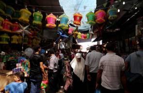 أجواء استقبال شهر رمضان المبارك في غزة