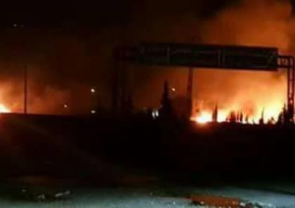 انفجارات قوية في قاعدة إيرانية بسوريا