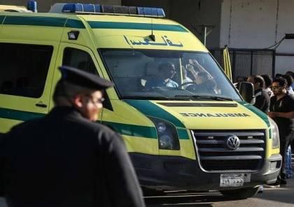 مصر: تفحم 12 عاملا في احتراق حافلة على طريق الإسكندرية